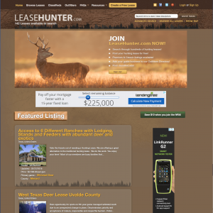 websites for hunters