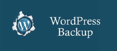 WordPress backupPLugin