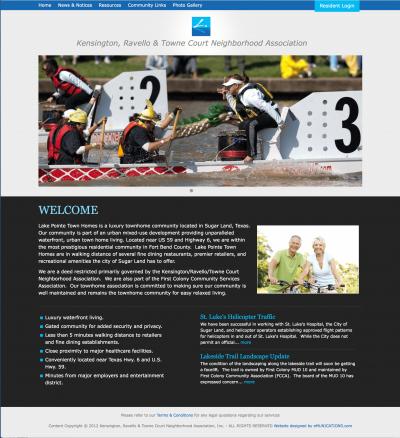 Websites for home owner associations