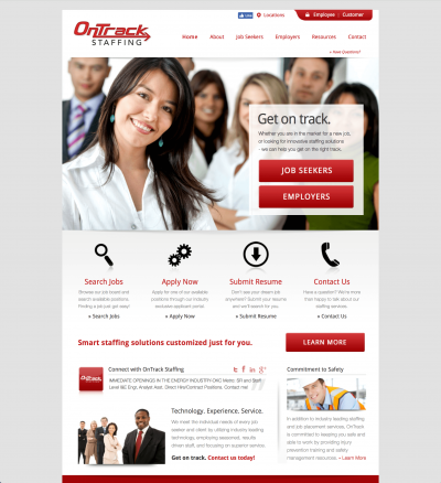 Staffing Website