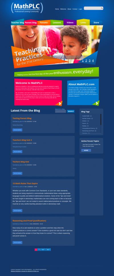Community Website for Teachers
