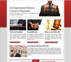 lawyer website sample