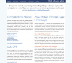 lawyer website example